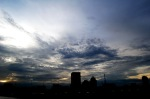 Sunset on Jakarta
