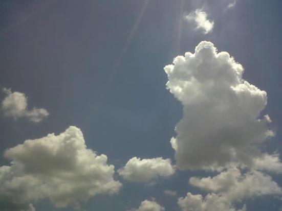 Foto Outdoor Cumulonimbus Cloud