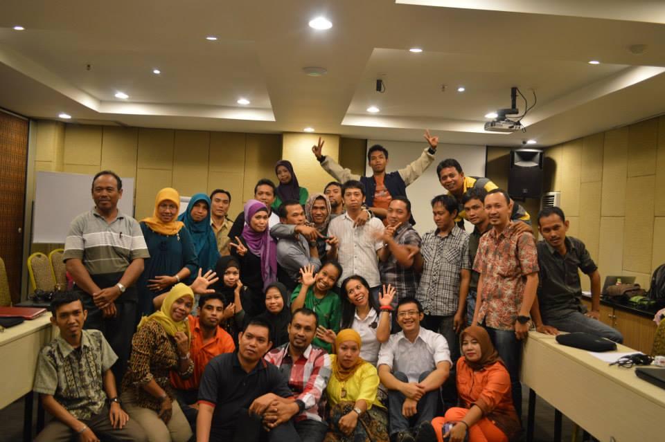 Bersama peserta dari Takalar & Gowa