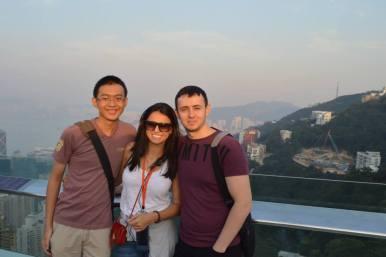 L-R: me, Thaís, and Kirill
