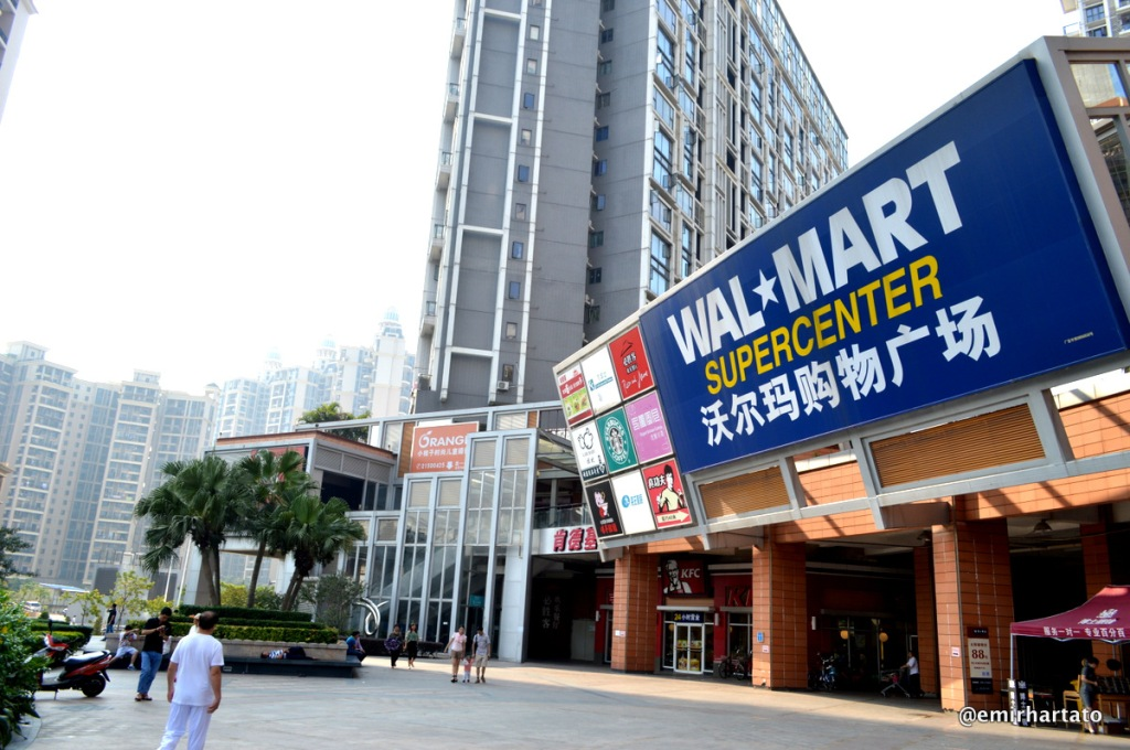 Bao An Stadium area