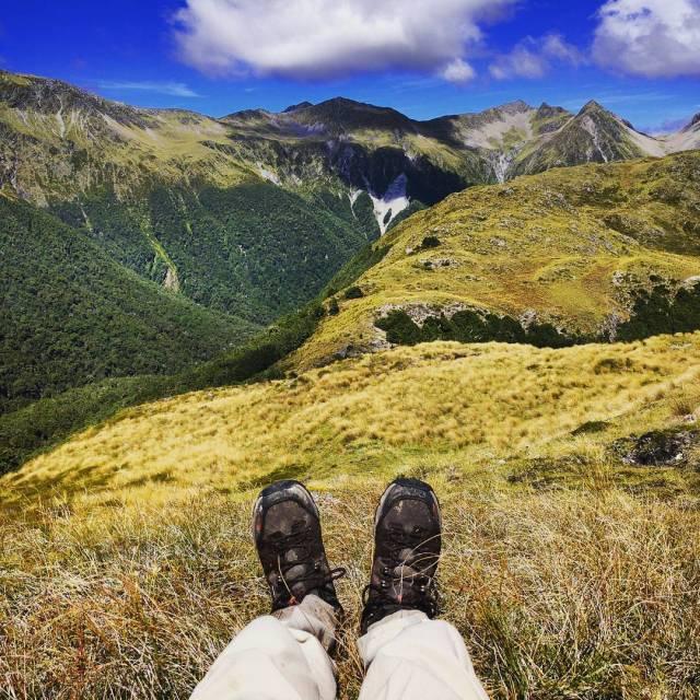 Lake Christabel Track #NewZealand #Landscape